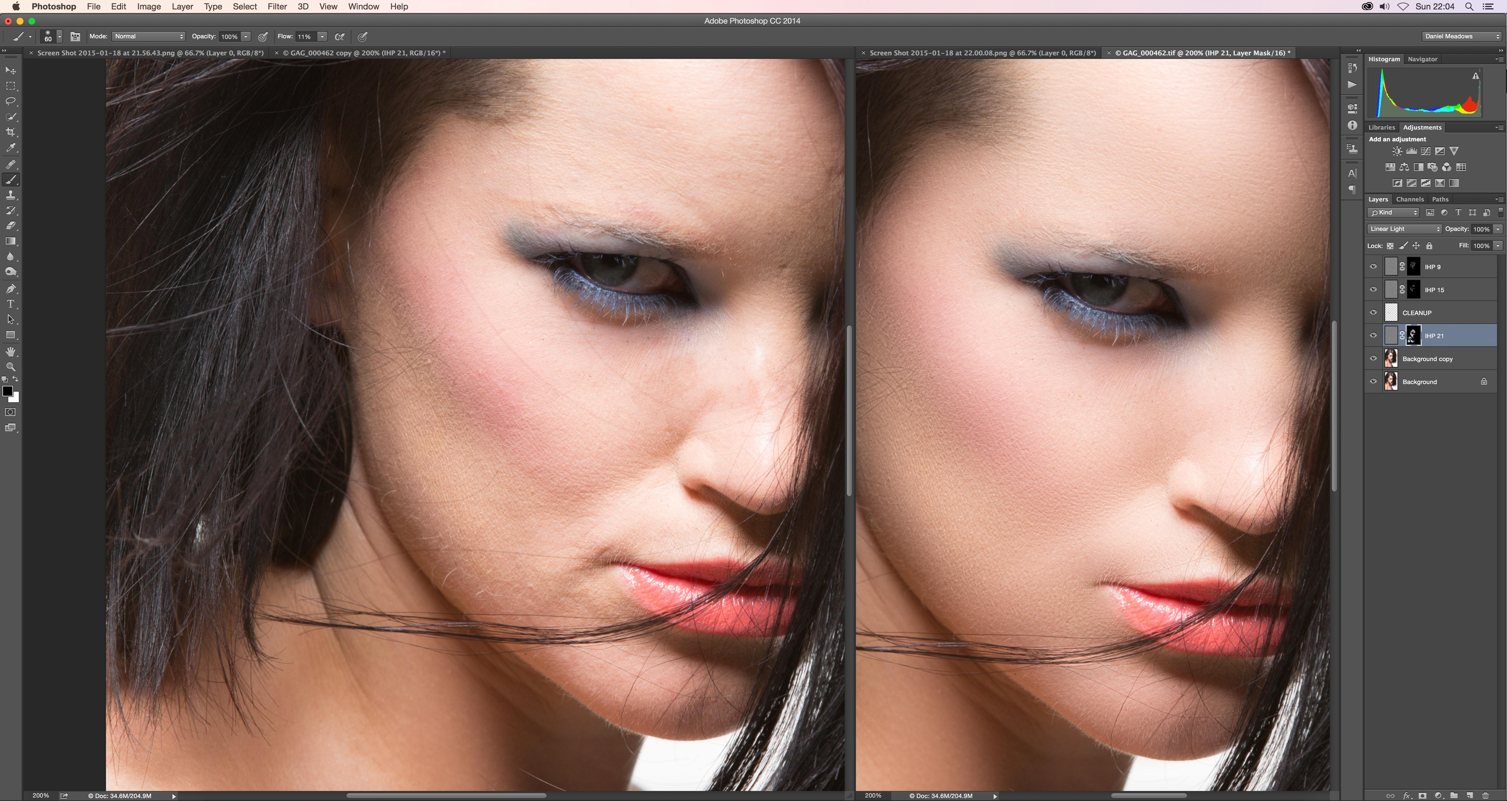 Inverted high pass ihp retouching tutorial retoucher daniel inverted high pass retouching 5a baditri Choice Image