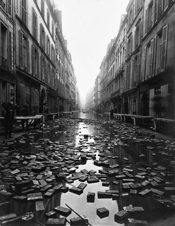 paris flood library books 1910